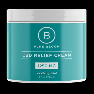 1250 mg CBD Relief Cream